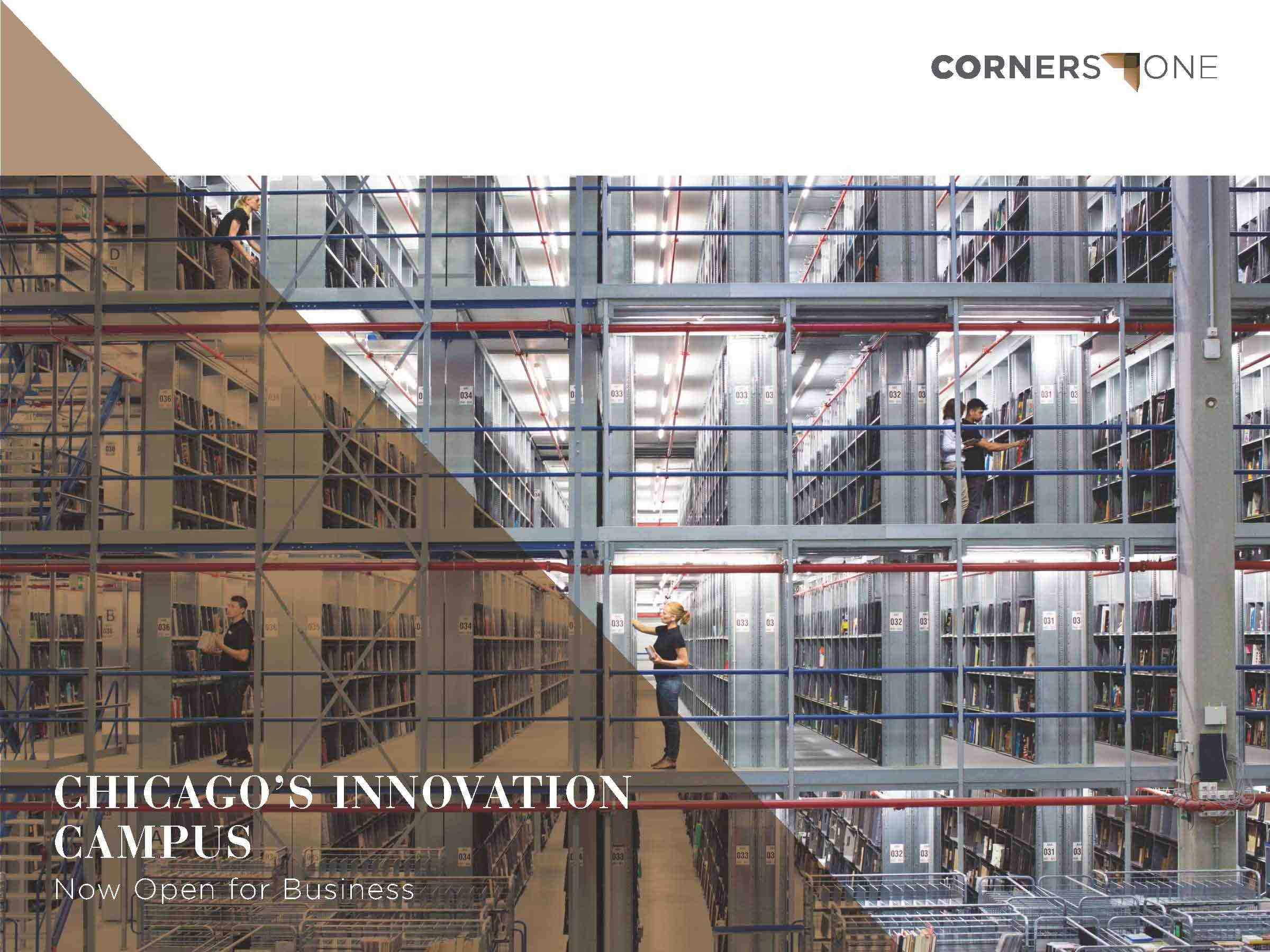 Front cover of the Cornerstone brochure.