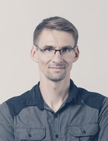 Portrait of Florian Auckenthaler.
