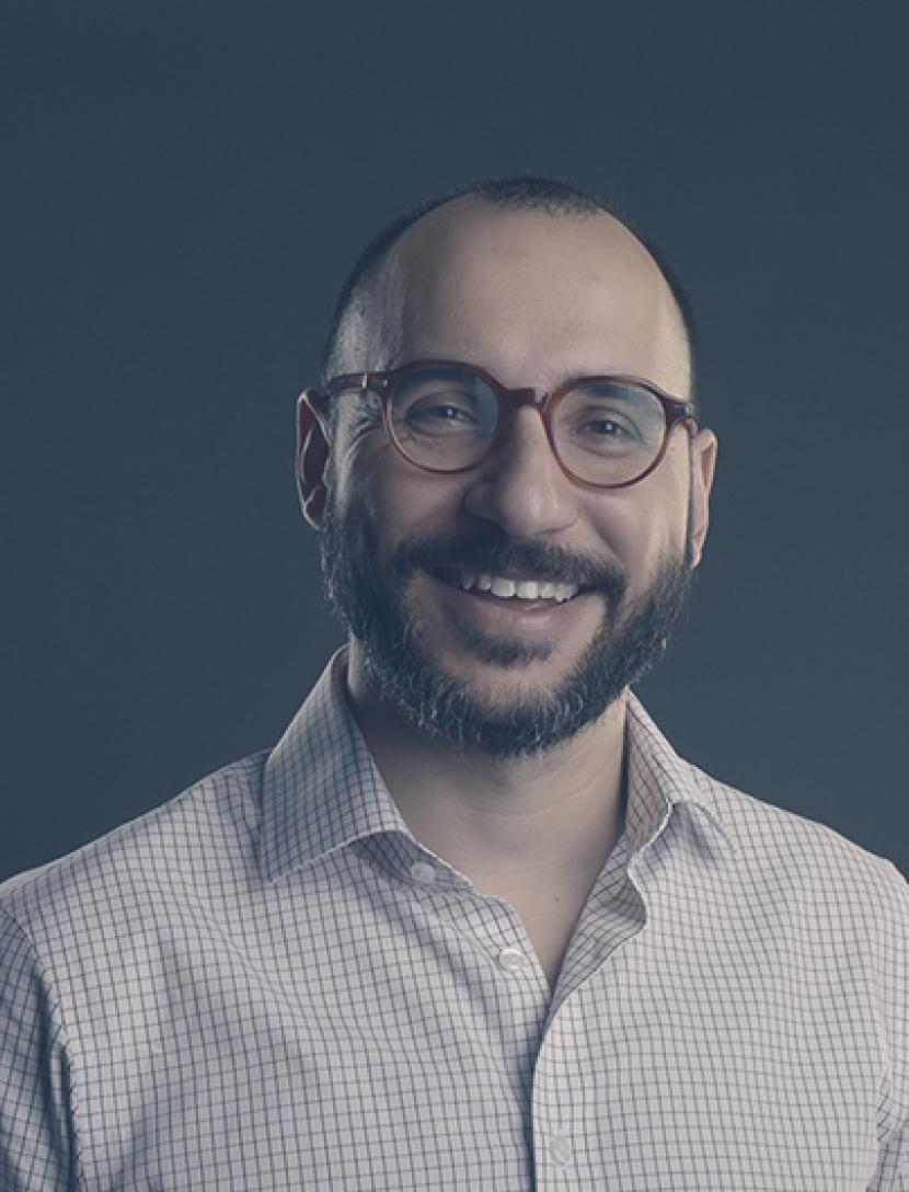 Portrait of George Vavaroutsos.