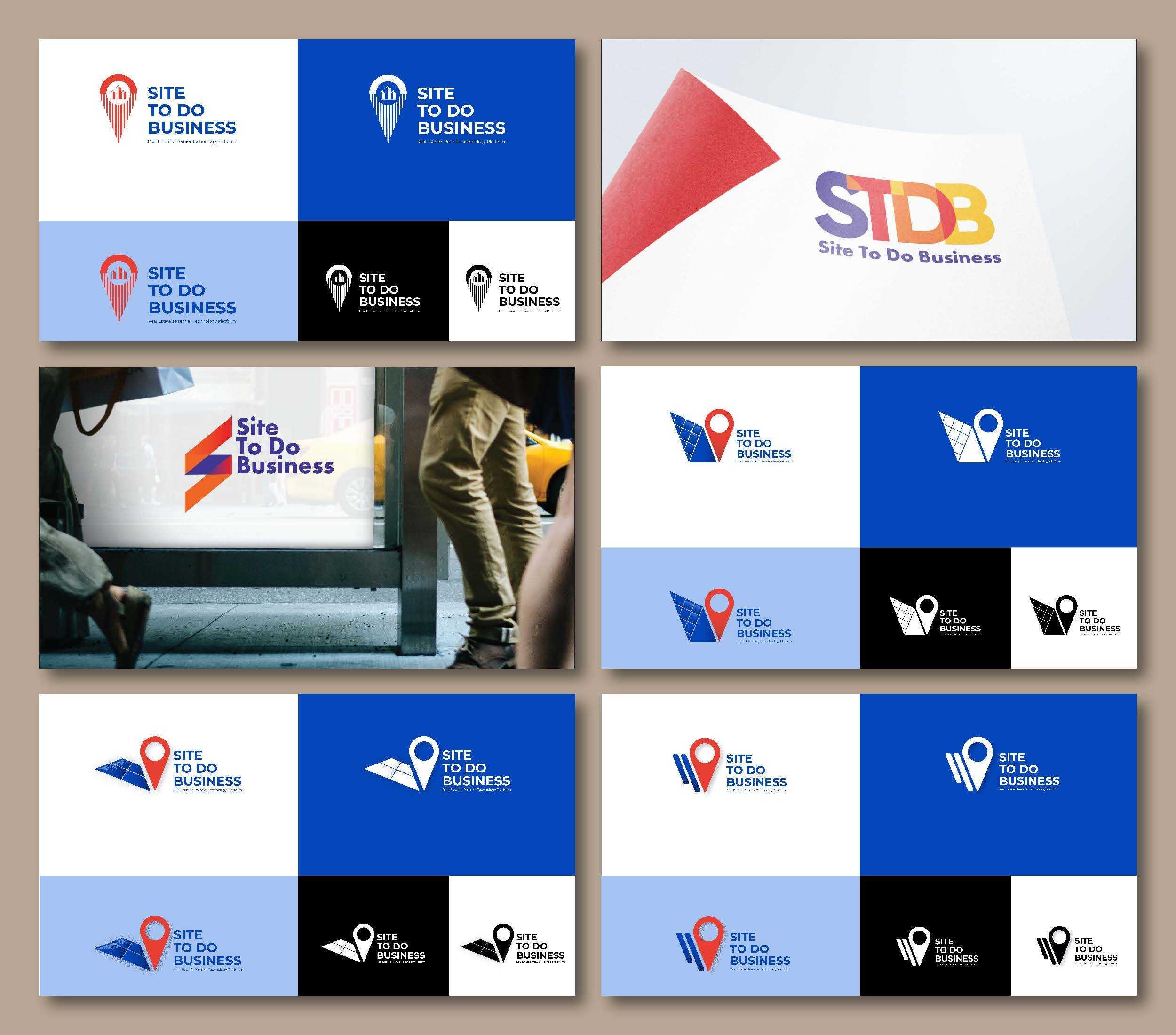 Examples of different STDB logos.